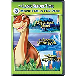 The Land Before Time V-VII 3-Movie Family Fun Pack