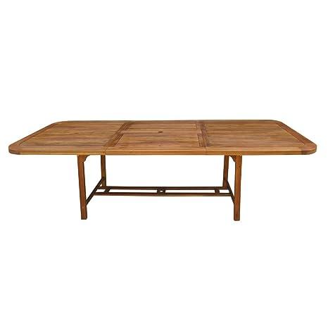 Tavolo in Legno Acacia Allungabile