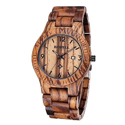 bewell-montre-a-quartz-pour-homme-en-bois-zebre-couleur-cafe-affichage-analogique-calendrier