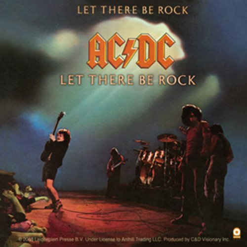 Licenses Products AC/DC Let There Be Rock Sticker