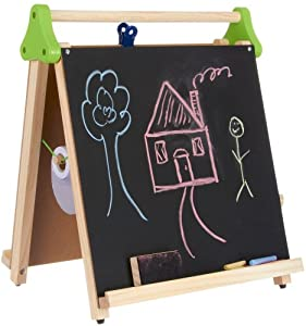 Discovery Kids 3-in-1 Artist Tabletop Easel Multi