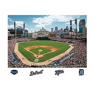 Amazon Com Mlb Detroit Tigers Inside Comerica Park Mural