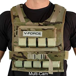 45 Lb. V-Force Weight Vest - Made in USA by Weight Vest