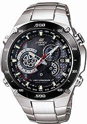 [カシオ]CASIO 腕時計 EDIFICE エデフィス 1/1000秒クロノグラフ タフソーラー 電波時計 MULTIBAND 6 EQW-M1100DB-1AJF メンズ
