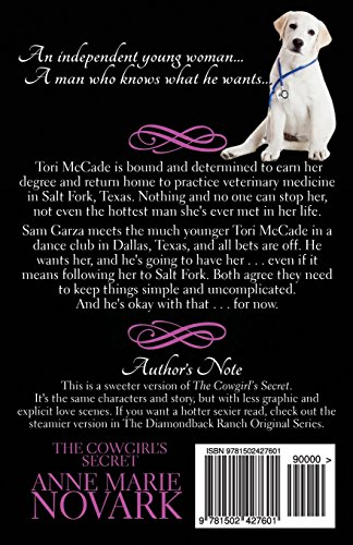 The Cowgirl's Secret: The Sweeter Version: Volume 5 (The Diamondback Ranch Sweeter Series)
