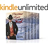 Christmas Hearts of the West: A Collection of Western Romance Novellas and Short Stories