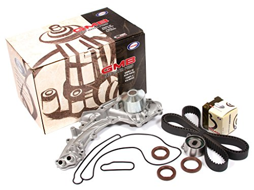 Evergreen Tbk193Wp2 91-95 Acura Legend Sedan 4-Door 3.2L C32A1 Timing Belt Kit Gmb Water Pump (2 Outlet Pipes)