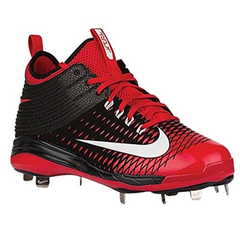 Nike Mens Trout 2 Pro Black/University Red/White 10 D - Medium