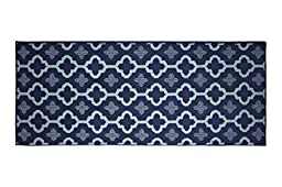 Jean Pierre Yapi Textured Decorative Accent Runner, 24 x 60\
