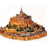 世界遺産 モンサンミシェル 修道院 ペーパークラフト フランス