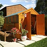 BillyOh 10' x 8' Overlap Double Door Apex Garden Shed