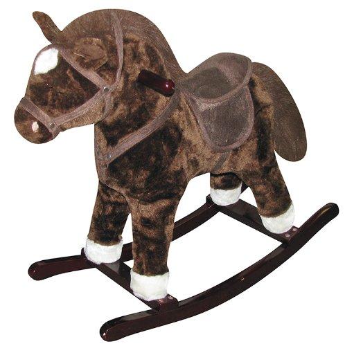 Charm-Company-Horse-Rocker-Ride-On-Brown