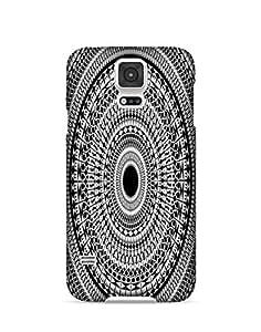 Bagsfull Designer Printed Matte Hard Back Cover Case For Samsung Galaxy Note 4