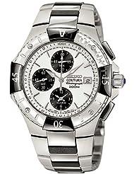 Seiko Men's SNA457 Coutura Alarm Chronograph Watch