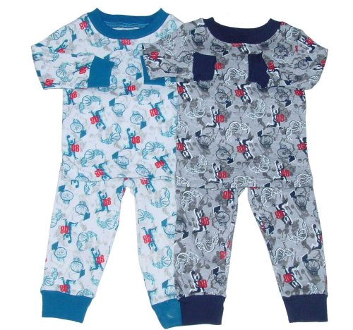 Buy Boys' Pajama Loungewear Set with Basketball Print