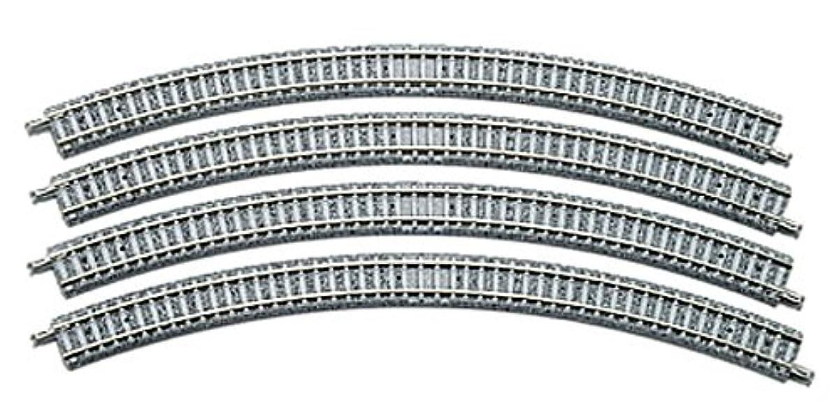 [해외] TOMIX N게이지 커브PC레일 C317-45-PC F 4개 세트 1192 철도 모형 용품-011927 (2014-04-26)