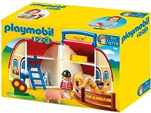Playmobil - 6778 - Jeu de Construction - Ferme Transportable