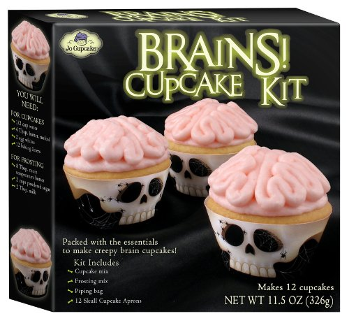Brains! Cupcake Kit