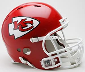 Riddell Kansas City Chiefs Revolution Authentic Pro Helmet by Caseys