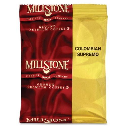 Folgers Products - Coffee, Columbian Supremo, 1.75 Oz., 24/Ct - Sold As 1 Ct - A 1.75 Oz. Bag Of Millstone Coffee Makes 64 Oz. Of Coffee In Coffeemakers.