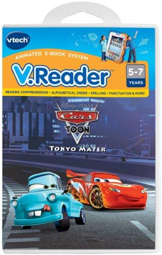 Imagen de Coches V.Reader Software-Disney - VTech