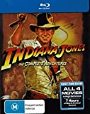 Indiana Jones Complete Blu-ray Collection (Raiders of the Lost Ark / Temple of Doom / Last Crusade / Kingdom of the Crystal Skull) Blu-Ray