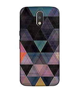 small candy 3d Printed Back Cover For Motorola Moto G4 Play -Multicolor pattern
