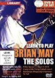 echange, troc Learn to play Brian May - The Solos  (+ CD) [Import anglais]