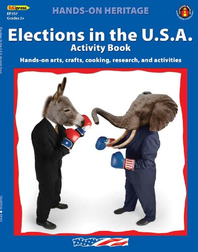 Activity Book Elections in the U.S.A. - 1