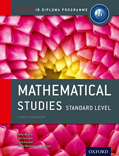Ib course book: maths studies. Con espansone online. Per le Scuole superiori (Ib Course Companions)