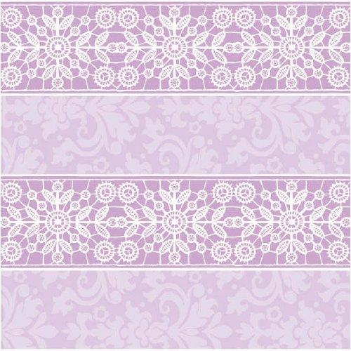 gw printed 5' lavender lace