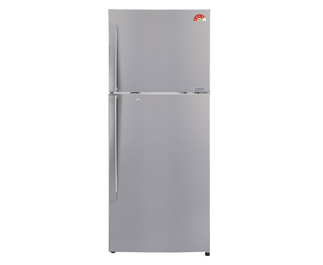 LG GL-I322RPZL Frost-free Double-door Refrigerator (308 Ltrs, 4 Star Rating, Shinny Steel)