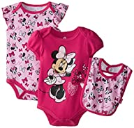 Disney Baby Girls  Minnie Mouse 3 Pie…