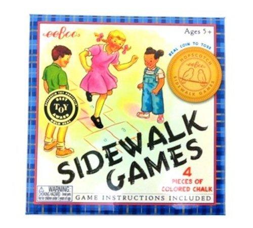 eeBoo Sidewalk Chalk Game