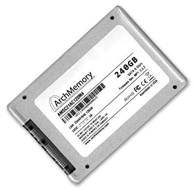 240 GB SSD Solid State Hard Drive SATA 3 III 6.0 Gb/s 2.5 Inch with TRIM Support & Sandforce Controller 240GB by Arch Memory