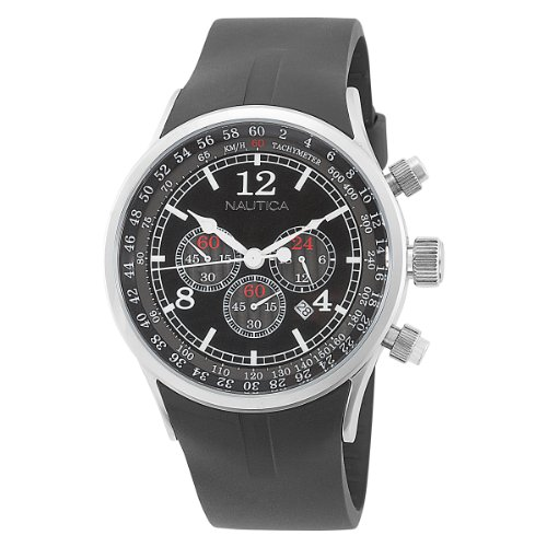 Nautica Men's N13530G NSR 01 Chronograph Watch
