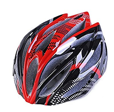 Hawkfish H08 230g 20 Vents Ultra Light Weight Mens/Ladies Adult Bike BICYCLE Helmet -EPS Safety Helmet- Available in 5 Colours 57-62CM from Generic005