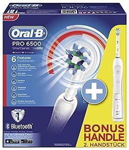 Oral-B Brosse à Dents Électrique Rechargeable Pro 6500 Duo