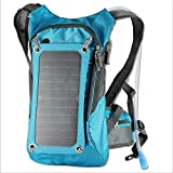 Ergonomic Solar Charger Backpack (7W), Hydration Pack Backpack (2L...