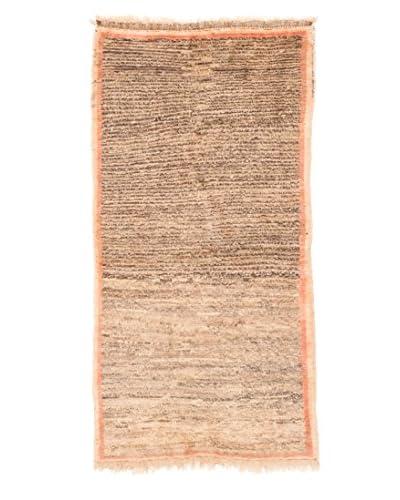 "eCarpet Gallery One-of-a-Kind Hand-Knotted Kashkuli Gabbeh Rug, Khaki, 2' 10"" x 5' 11"""