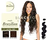 Outre Simply Brazilian Natural Body 100% Non-processed Hair - Natural Brown (10 INCH)