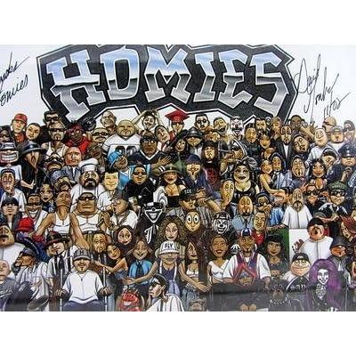 Amazon.com : Homies Framed Poster Autographed Nov 2002
