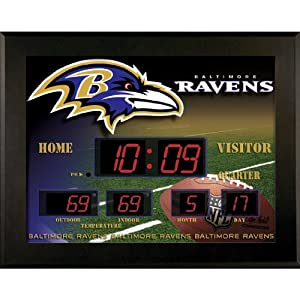 Buy Team Sports America NFL Team Deluxe Backlit Scoreboard by Team Sports America
