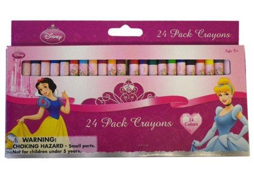 Disney Princess Crayon - Disney Princesses 24 Pack Crayons - 1