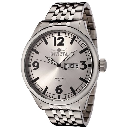 Invicta Men's 0370 II Collection Stainless Steel Watch
