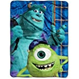 The Northwest Company Disney's Monsters University, Greek Geeks Micro Raschel Blanket, 46 by 60-Inch