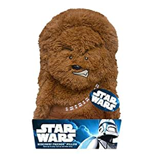 HideAway Friends Pillow Disney Star Wars Chewbacca,