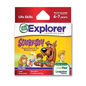 LeapFrog Explorer Learning Game: Scooby-Doo! Pirate Ghost of the Barbary Coast (works with LeapPad & Leapster Explorer) Children, Kids, Game