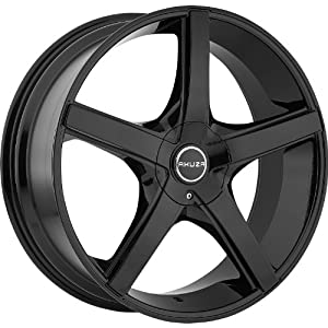 Akuza Axis 18 Black Wheel / Rim 4×100 & 4×4.5 with a 45mm Offset and a 73 Hub Bore. Partnumber 848880810+45GB