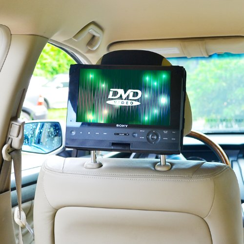 TFY Car Headrest Mount for Swivel & Flip DVD Player-10 Inch (Auto Dvd Player For Car compare prices)